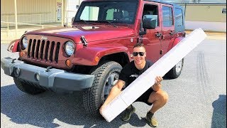 My $15,000 Jeep Build Starts NOW!!! The Wrap I've Wanted For YEARS + 2 HUGE MODS!