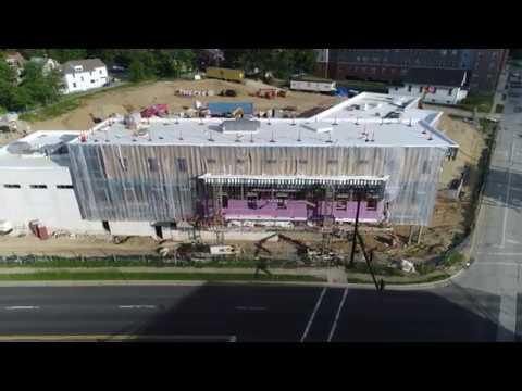 New Kent Police Department Construction Progress- June 8, 2017