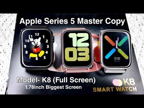 apple-watch-series-5-original-copy- -series-6-k8-smartwatch- -big-screen-smartwatch- -iwo-k8-max