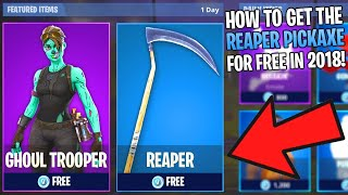 HOW TO GET THE SCYTHE/REAPER IN FORTNITE BATTLE ROYALE! (OG PICKAXE)