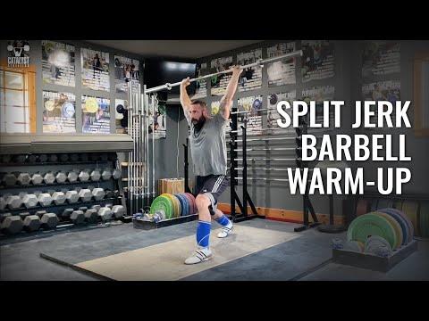 Split Jerk Barbell