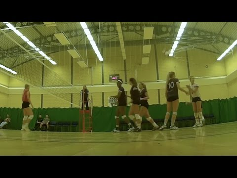 Team Durham vs Tendring VC Ladies - Super 8 Women National Volleyball League