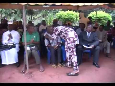 Burial Ceremony of my loving mother,Mrs Grace ugbelase pt 1