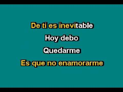 Dulce María   Inevitable Karaoke