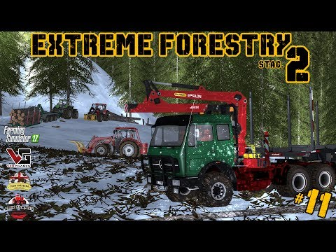EXTREME FORESTRY STAGIONE 2 | #11 ep. - PROBLEMI FINANZIARI - FARMING SIMULATOR 2017