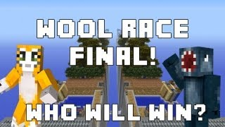Minecraft Xbox - Wool Race - Who Will Win?! - Part 4