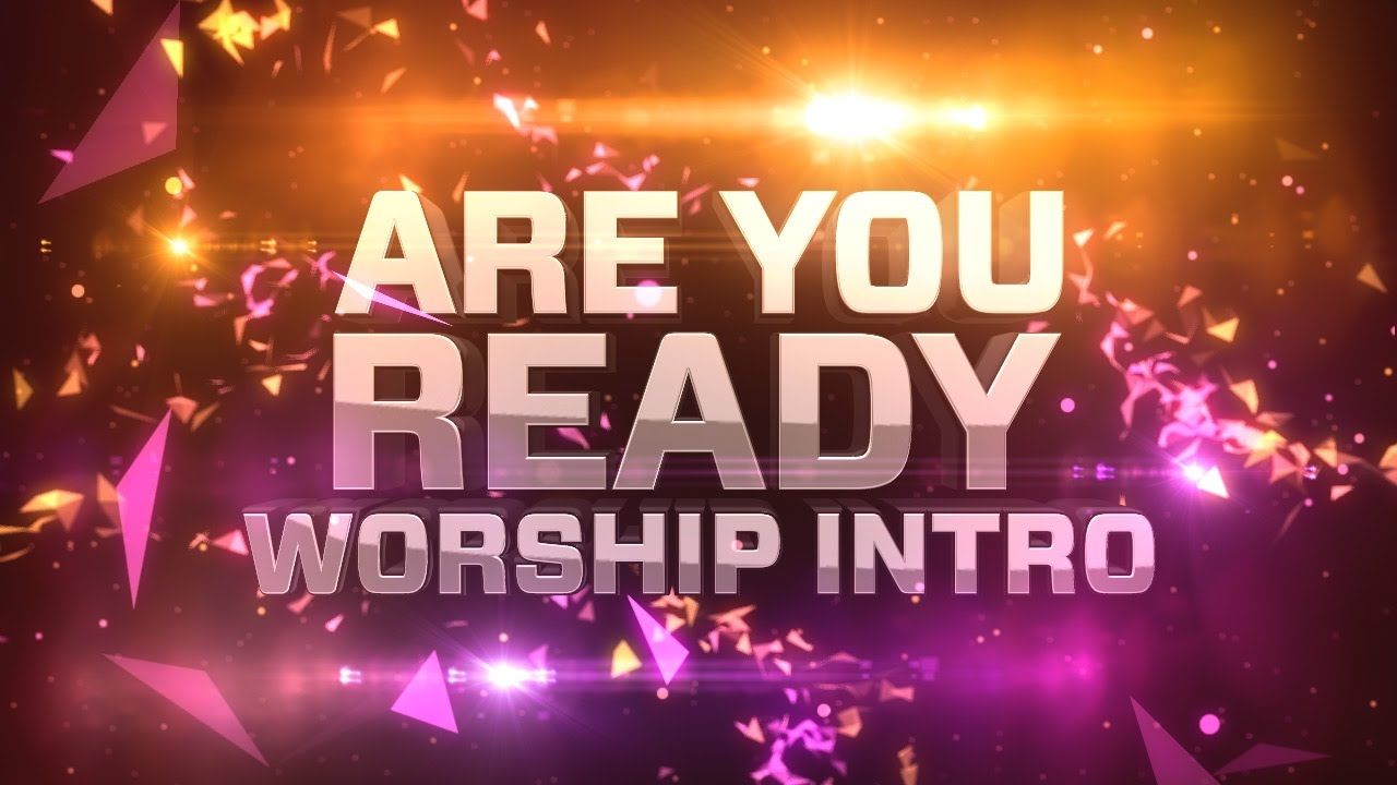 Kinder Garden: Are You Ready Worship Intro By Motion Worship