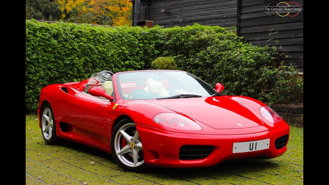 Ferrari 360 modena spider f1 200303 79950 youtube ferrari 360 modena spider f1 200303 79950 vanachro Images
