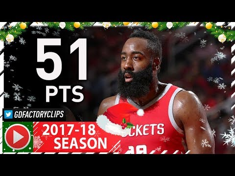 James Harden Full Highlights vs Lakers (2017.12.20) - 51 Pts, 9 Assists