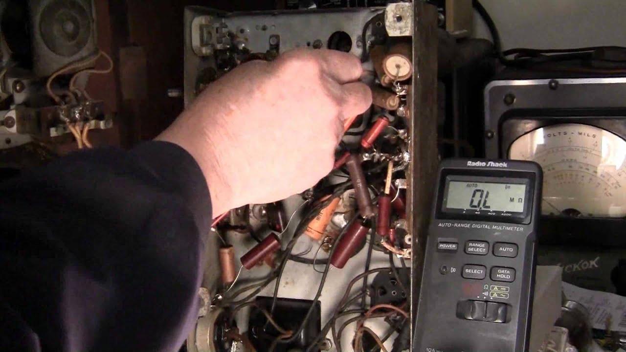 IF, Oscillator, Antenna Coils Continuity Test, Stewart Warner 1301