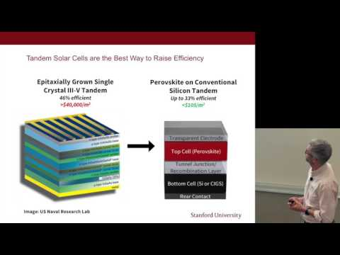 Michael McGehee: Solar Energy | Energy @ Stanford and SLAC 2016
