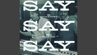 Paul McCartney & Michael Jackson - Say Say Say (2015 Remix Radio Edit) [Audio HQ]