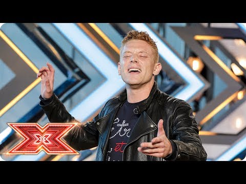 Aidan Martin delivers the perfect Punchline | Auditions Week 2 | The X Factor 2017