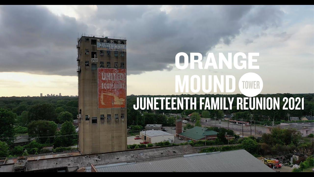 Juneteenth at the Orange Mound Tower