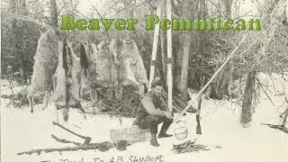 How to Make Beaver Pemmican