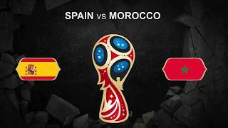 Spain vs Morocco FIFA World Cup 2018 june 25 Football PROMO