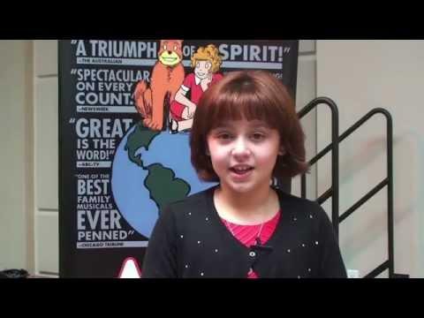 Davie Girl Stars in Broadway Tour of Annie