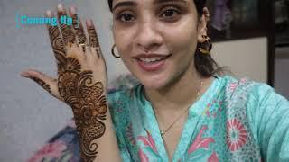 VLOG: Bakraeid vlog day 1|| cousin masti dawat & mhendi 😊