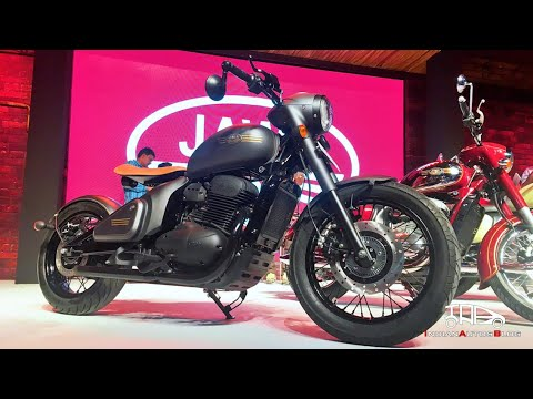 Jawa unveils new Perak custom bobber in India | First look preview | Walk-around, details and prices