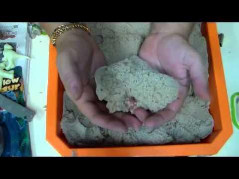 מדריך חדש חדש  החול הקינטי Kinetic Sand מגניב בטירוף :mickymt007