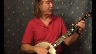 Old Time Banjo, Soldiers Joy, Ryan Thomson, clawhammer style.