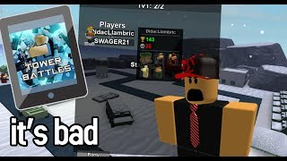 Tower Battles but on mobile | Tablet Gameplay thumbnail