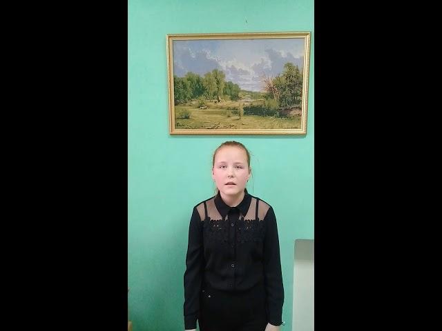 Изображение предпросмотра прочтения – АленаМакова читает произведение «Доброта она не увядает» И.А.Самариной
