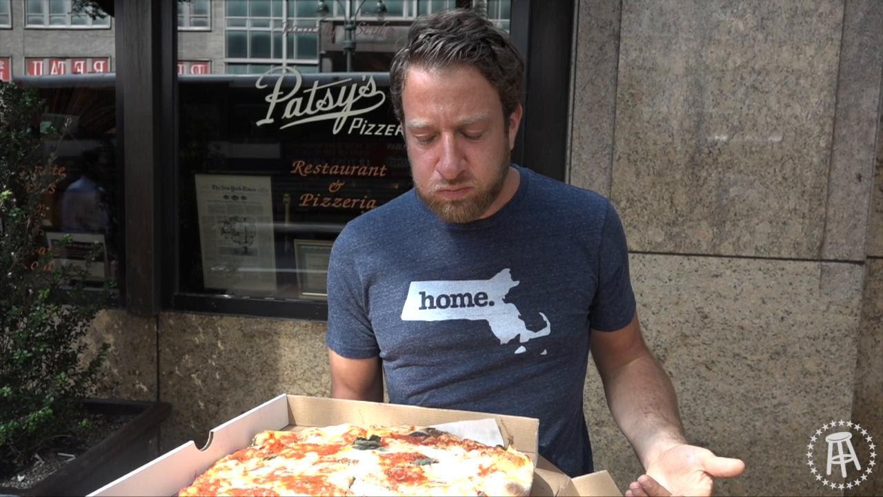 Barstool Pizza Review Patsy S Pizzeria Youtube