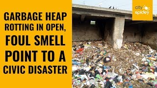 A tell-tale proof of civic negligence: Choking Dhalao at Sector 5, Dwarka