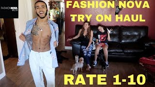 MOM & LITTLE SISTER RATE MY NEW FASHION NOVA OUTFITS !!! *HATERS*