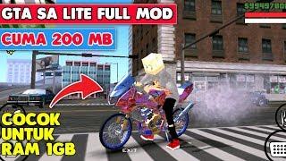 MANTUL!! GTA SA LITE FULL MOD CUMA 200 MB LANGSUNG MAIN   SUPPORT ALL GPU
