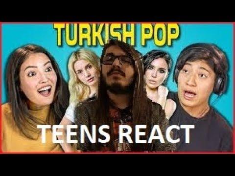 """Kendine Müzisyen,""""TEENS REACT TO TURKİSH POP SONGS"""" Videosunu İzliyor!"""