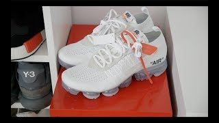 "Review Nike Air Vapormax x Off-White The Ten ""White"" (español)"