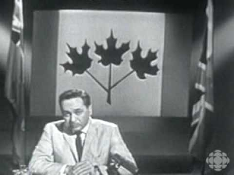 The Great Canadian Flag Debate - PM Pearson at a RCL Convention