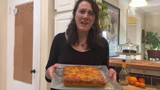 Triple Orange Cake, by Reva Youngstein, flutist