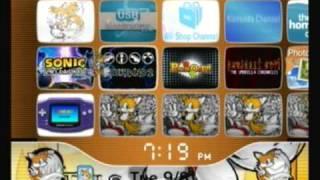 Custom Wii Menu - tails
