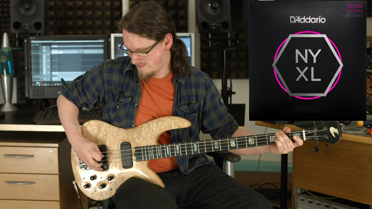 D'Addario NYXL Bass Strings Review - YouTube