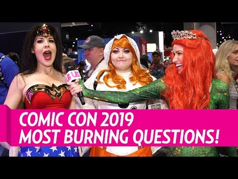 Comic Con 2019 Us Weekly Asks Fans Our Most Burning Questions!