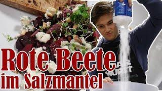 Rote Bete Salat im Salzmantel feat. Sola (inkl. Rezept) | Mori kocht