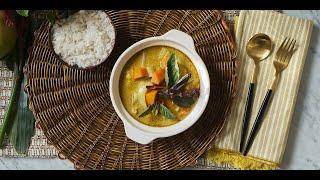 Sutharos Organic Vegan Thai Yellow Curry Meal Kit