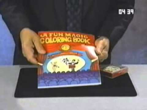 magic coloring book and vanishing crayons magic trick youtube - Coloring Book Magic Trick