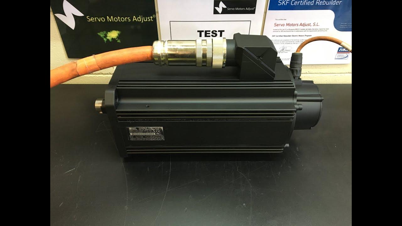 Indramat Type Mkd 112 058 Gp3 An Servo Motor Test Servo
