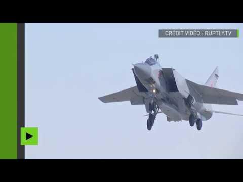 La Russie teste avec succès son nouveau missile hypersonique «Poignard»