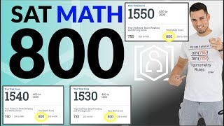 How to get a PERḞECT 800 on the SAT Math Section: 13 Strategies to maximize your score