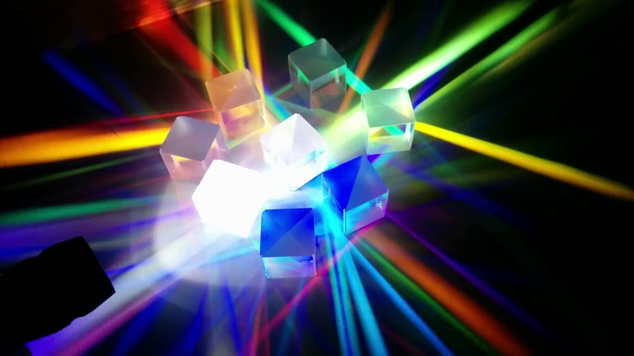 Beautiful Trichroic Prism Magic Youtube