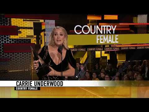 Paul Schadt and Meg - Carrie Underwood Wins AMA