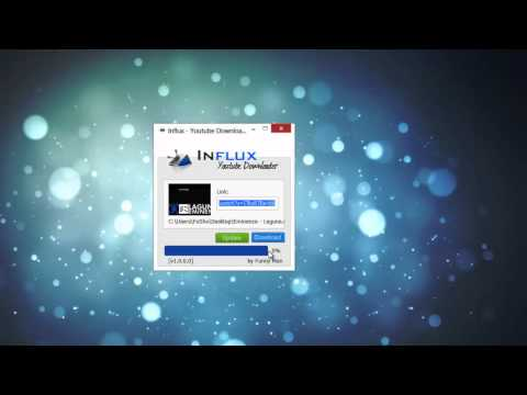 Influx - Youtube Downloader