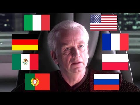 """I AM THE SENATE"" IN MULTIPLE LANGUAGES"