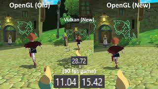 RPCS3 Vertex Rewrite (8/16/17) - Ni no Kuni Comparison