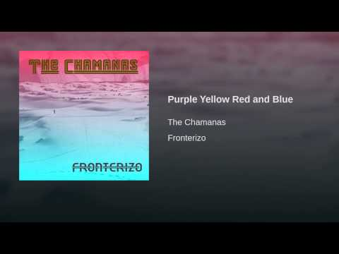 Purple Yellow Red and Blue